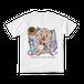 <白Tシャツ 背面>レジャーみーちゃん