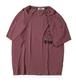 メンズビッグフォルム前後ギャップロゴTシャツ2色