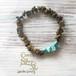 ◆SALE ¥1,000◆ Power Stone Bracelet -Tiger's-eye&Turquoise-