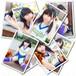 ブロマイド3枚セット チアガール【全8種】(山内 麻夢/2014年11月) #BR01801