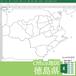徳島県のOffice地図【自動色塗り機能付き】