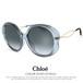 クロエ サングラス レディース chloe ce741sa 049 58mm ビックレンズ アジアンフィットモデル
