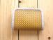 竹と麻の財布・小 四つ目編み漆仕上げ 【受注生産】