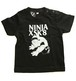NINJA X(ベビーTシャツ)Original SK8 Monster Black Baby 赤ちゃんサイズ 4103