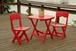 Adirondack Cafe Set (アディロンダック・カフェセット)チェリーレッド
