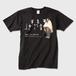 リキノスケ(黒)メンズTシャツ ガーメントインクジェット印刷