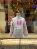 KIDS:nini【ニニ】うさぎTシャツ(ピンクベージュ/80〜130cm)