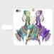 #001-006 iPhone8対応 オリジナルデザイン《花言葉》手帳型iPhoneケース・手帳型スマホケース パターン2  全機種対応 作:柑澤智蔭 Xperia ARROWS AQUOS Galaxy HUAWEI Zenfone