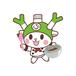 フィルター・ストッパー付き ふっかちゃんマスク / No.182【ショコラティエ】