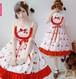 9881ワンピース ロリータ服 ロリータ衣装 可愛い 少女風 日常 キャミソールワンピース フリル lolita