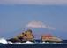 霊峰に結ぶ(縁起の良い奇跡の開運写真 霊峰富士山を伊豆半島から撮影)