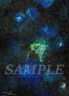 オリジナル絵画(アクリル画)「Space Paint(2018-02)」デジタルデータ【イラスト素材/宇宙・星・星雲・絵画・アート】