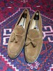 .YANKO SUEDE LEATHER TUSSEL LOAFER/ヤンコスウェードレザータッセルローファー 2000000031262