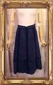 jane colby スエードロングスカート
