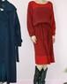 80's dolman sleeve stripe dress