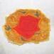 ミニミニ日本画「薔薇」