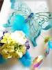 幸せを運ぶ青い蝶の物語・サンキャッチャー