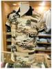 【Franklin&Marshall】    - Italy -          フランクリンマーシャル     半袖ポロシャツ   スリムフィット×ボタニカル