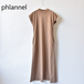 Phlannel/フランネル・Organic cotton Summer Long Dress