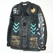 『we are the???』1off O.D collage military Jacket