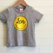Name ☺︎/グレー - ネームオーダーTシャツ