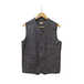 WORK VEST (DARK HICKORY)