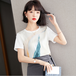 【tops】今季も大流行 定番ラウンドネック優しい雰囲気Tシャツおしゃれ大人気