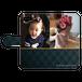iPhonePlus・Android Lサイズ モコモコ手帳型ケース color:ブラック