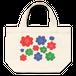 【トートバッグS】お花