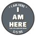 """ I AM HERE "" S/S TEE (YAMABIKO TEE)"