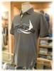 【 EMPORIO ARMANI 】     エンポリオアルマーニ      - Italy -              半袖ポロシャツ         鹿の子編み×ロゴデザイン