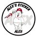 ALEX'S STICKER