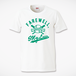 F,M.L BASEBALL Tシャツ ホワイト×グリーン