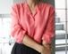 80's Yves Saint Laurent rive gauche salmon pink tops