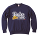 TSUBOMIN / CHEESE & LILY SCRIPT LOGO CREWNECK SWEAT NAVY
