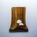 ダックスフンドがワンポイントの陶器のペンスタンド