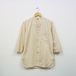 3/4 GRANDAD SHIRT (NATURAL)