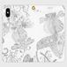 手帳型(帯なし)(iPhone X/XS):kazue.M_011(金魚)