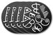 BimBomBamのラバーコースター[4枚セット]