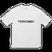vibeca ロゴTシャツ white