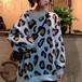 2色 トップス ★ お洒落 レオパード柄 レディース 長袖 シャツ