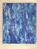 絵画(アクリル画) Emerald Blue Jewel(エメラルドブルーの宝石)
