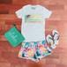 【88tees】 グラフィックTシャツ(ヤシの木)/レディース