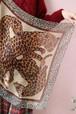 Yves Saint Laurent leopard scarf