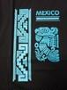46 メキシコ製Tシャツ Lサイズ  アステカ柄