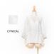 ☆SALE☆[CYNICAL] 綿麻ドロストリングシャツ