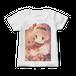 オリジナルレディースTシャツ【恋するテディベア】 / いかり