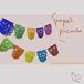 パペルピカド カラベラ柄 M ※10連10色