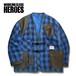 WCH Remake Quilting Flannel Gardening Jacket -Navy / Black