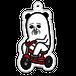 パンダおっさん(三輪車)アクリルキーホルダー